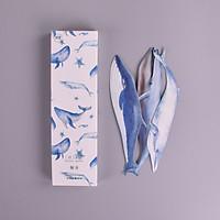 Hộp 30 Bookmark Đánh Dấu Sách Cá Voi