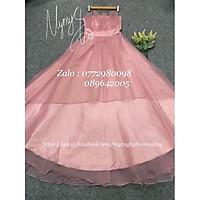 Đầm maxi dự tiệc cúp ngực sang trọng TRIPBLE T DRESS - size M/L (kèm ảnh/video thật) MS215V