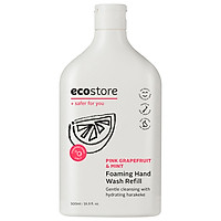 Nước rửa tay hương bưởi hồng và bạc hà gốc thực vật Ecostore 500 ml refill
