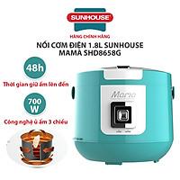Nồi Cơm Điện 1.8L Sunhouse Mama SHD8658G - Hàng Chính Hãng