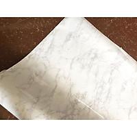 5m giấy decal cuộn đá hoa cương trắng DTL114 (60x500cm)