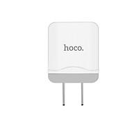 Củ sạc nhanh HOCO C22 max 5V-2.4A + Tặng Cáp Lightning - Chính Hãng