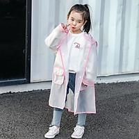 Áo mưa trẻ em cao cấp, Áo mưa cho bé học mẫu giáo từ 3 tuổi trở lên_không mùi, an toàn cho trẻ nhỏ