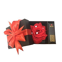 Set son quà tặng  Belips hộp hoa hồng