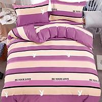 Bộ Chăn Drap 5 Món Cotton Yoona Korea - Be Your Love