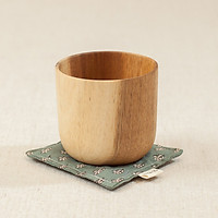 Lót cốc vải linen (10x10cm)