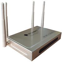 Androdi tivi box 4 anten có bluetooth android 7.1 kèm chuột không dây cài sẵn các ứng dụng giải trí
