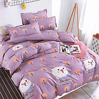 Bộ drap cotton thái lan Cotton House (5 món) CH5TDB014