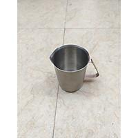 Ca đánh sữa có vạch đong inox 304 chất lượng cao - 2000ml
