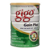 3 Hộp Sữa Bột Gigo Gain Plus (900g)