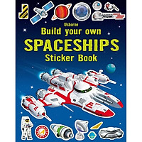 Sách tiếng Anh - Usborne Build your own Spaceships Sticker book