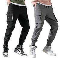 Quần thể thao nam jogger kaki mã TT33 thô túi hộp kiểu bó ống Hàn Quốc chất vải đẹp ống dài