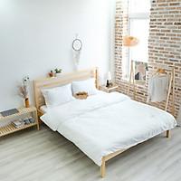 Giường Ngủ Gỗ Nan Simple Bed Nội Thất Kiểu Hàn BEYOURs - Gỗ Tự Nhiên