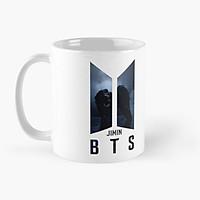 Cốc in hình Logo BTS JIMIN Black Swan