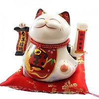 Mèo vẫy tay Kim vận chiêu tài SW 361-18cm