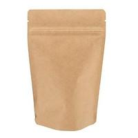Túi giấy Kraft nâu zipper 18x26 cm (1kg)