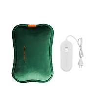 Túi chườm sưởi ấm chân tay Jisulife HW01-I chất liệu PVC chống cháy giữ nhiệt lâu (Bản thông minh - Có màn hình hiện thị nhiệt độ lúc sạc và điều chỉnh nhiệt độ )