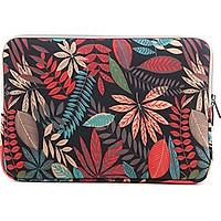 Túi chống sốc Macbook 13 inch họa tiết hoa văn
