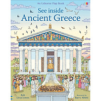 Sách Usborne: See Inside Ancient Greece