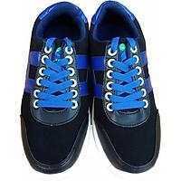 Giày bánh gót An Phát 012-01 Đen xanh dương
