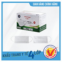 Khẩu trang y tế kháng khuẩn 4 lớp Asia Medic - Đạt chuẩn Hàng Việt Nam Chất Lượng Cao, Ngăn ngừa dịch bệnh, khói bụi, che nắng