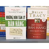 Bộ 2 cuốn về Kinh tế của tác giả Brian Tracy (Những Đòn Tâm Lý Trong Bán Hàng & Kết Thúc Bán Hàng – Đòn Quyết Định)