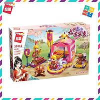 Bộ Đồ Chơi Xếp Hình Thông Minh Lego Cho Bé Gái Qman 33012 Hoa Mộc Lan Mulan Ở Doanh Trại Huấn Luyện 248 Mảnh Ghép
