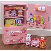 Đồ chơi Tủ Lạnh bằng gỗ