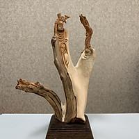 Tượng gỗ phong thủy Đạt Ma sư tổ độc đáo