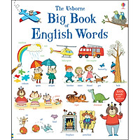 Usborne Big Book of English Words (1000 Words with Pictures)
