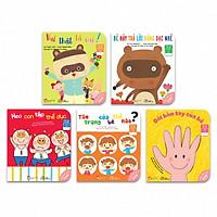 Bộ 05 cuốn Ehon Nhật Bản - Kỹ Năng sống cho bé 0-6 tuổi (Tái bản 2019)