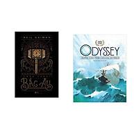 Combo 2 cuốn sách: Thần thoại bắc Âu + Thần thoại vàng: Dyssey những cuộc phiêu lưu của Odysseus