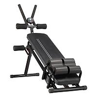Ghế tập bụng đa năng mẫu mới giúp kết hợp nhiều bài tập gym tại nhà, đồng hồ hiển thị thanh trượt bụng thông minh, Ghế tập gym
