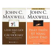 Combo Bộ Sách Về Nghệ Thuật Lãnh Đạo (Lãnh Đạo Giỏi Hỏi Câu Hỏi Hay + Phát Triển Kỹ Năng Lãnh Đạo)(2 Cuốn)