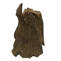 Gỗ lũa ngọc am tự nhiên phong thủy Mã 56 (34cm x 26cm)