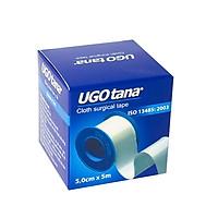 Combo 4 cuộn Băng dính cuộn vải lụa y tế UGOTANA loại 1,25 cm x 4m, loại 1,25 cm x 5m, loại 2,5 cm x 5m, loại 5 cm x 5m