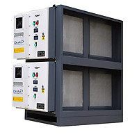Máy lọc khói bụi, xử lý khí thải bếp ăn cho nhà hàng, khách sạn, bếp ăn tập thể Dr.Air  KT16000 - Hàng Chính Hãng