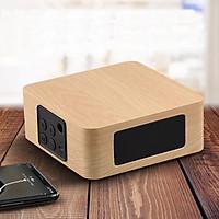 Loa Gỗ Bluetooth Q1A yellow wood - hàng nhập khẩu