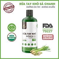 Nước rửa tay khô tinh dầu Sả Chanh 24Care diệt khuẩn - Có chứng nhận diệt khuẩn 99,9% đạt tiêu chuẩn FDA