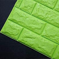 Bộ 10 Xốp dán tường giả gạch 3D nhiều màu loại 1