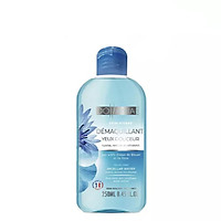 Nước tẩy trang dành cho mắt môi Dollania DOLLANIA MICELLAR WATER SOOTHES, CLEANSES AND REFRESHES ENRICHED ROSE WATER AND CORNFLOWER WATER ACTIVES 250ml