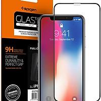 Kính cường lực cho Iphone XR Full màn hình Spigen - Hàng chính hãng