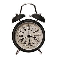 Đồng hồ báo thức cổ điển 2 quả chuông để bàn