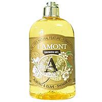 Sữa Tắm L'amont En Provence Almond & Olive Shower Gel Chai 500ml