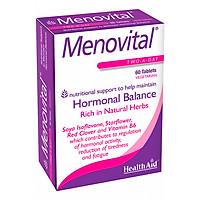 Thực Phẩm Chức Năng Healthaid Meno VitalL, tăng cường chức năng sinh lý nữ, cân bằng hormon nội tiết, làm đẹp da, chống lão hóa