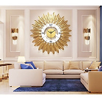 Đồng hồ treo trường trang trí nghệ thuật hình tròn DH633