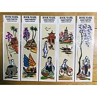 Mỹ nghệ Thanh Toàn - Kẹp sách giấy dó màu 2 - Combo 5 Cái