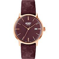 Đồng Hồ Unisex Henry London HL40-S-0368 - Dây Da