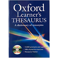 Oxford Learner's Thesaurus with CD-ROM