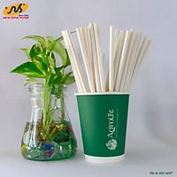 [AgroLife] Hộp 30 Ống hút giấy từ sợi mía phi 6mm Không cắt xéo - Ống hút giấy sợi mía 100% từ thiên nhiên - Thân thiện với môi trường